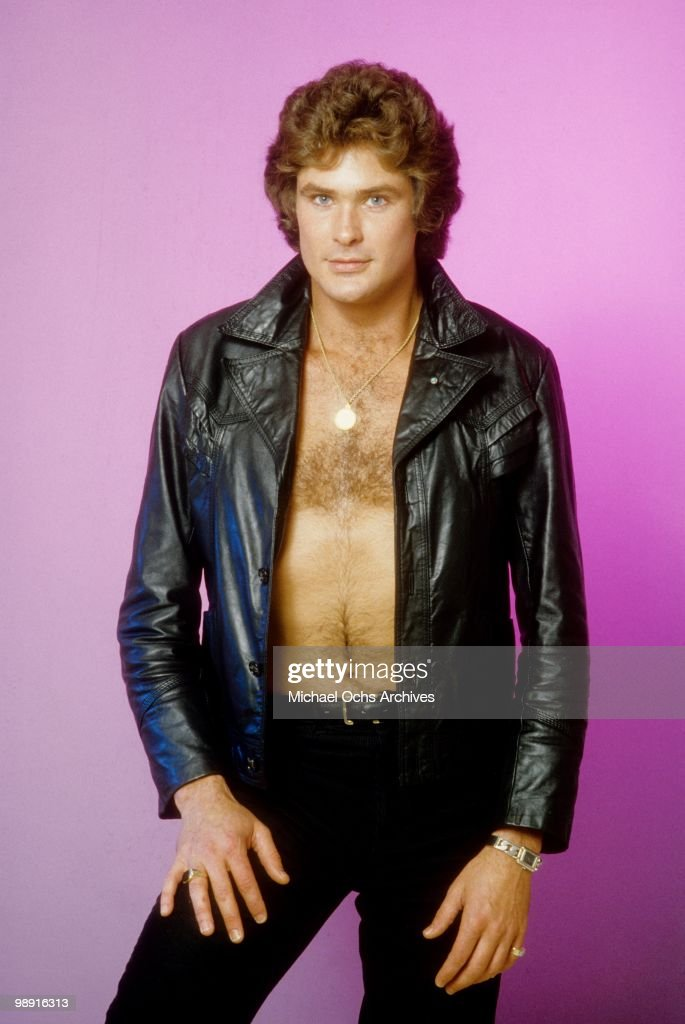 Actor and singer David Hasselhoff poses for a portrait on January 11, 1980 in Los Angeles, California.