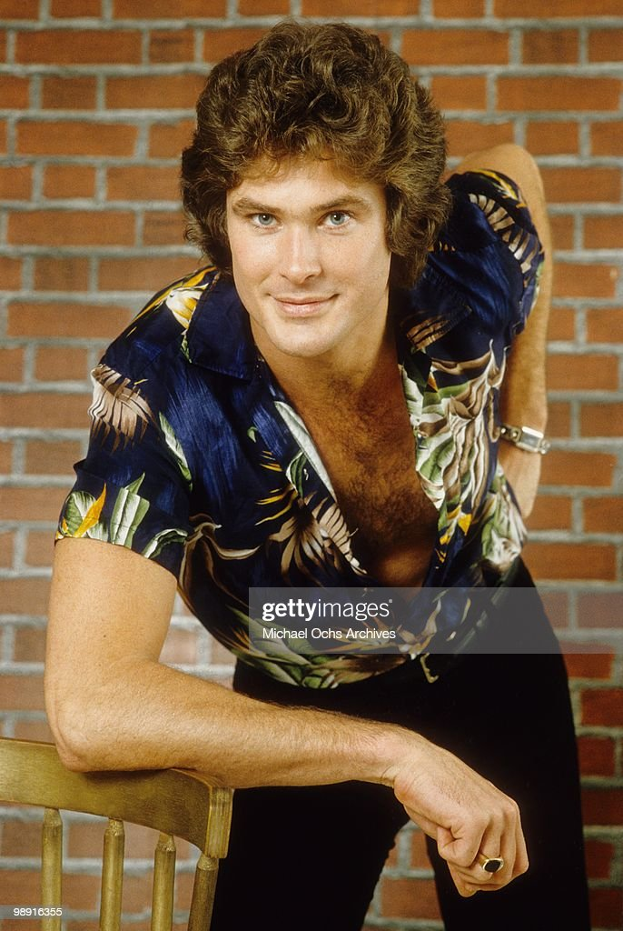 Actor and singer <a gi-track='captionPersonalityLinkClicked' href=/galleries/search?phrase=David+Hasselhoff&family=editorial&specificpeople=209380 ng-click='$event.stopPropagation()'>David Hasselhoff</a> poses for a portrait on January 11, 1980 in Los Angeles, California.