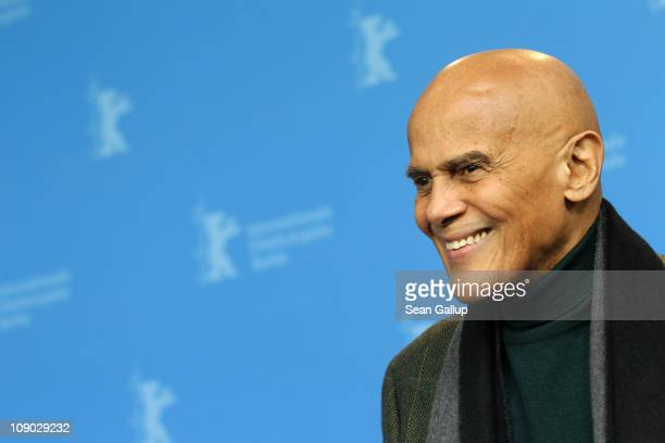 Actor and singer Harry Belafonte attends the 'Sing Your Song' Photocall during day three of the 61st Berlin International Film Festival at the Grand...