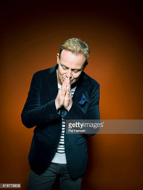 Actor and singer Jason Donovan is photographed for the Observer on November 26 2015 in London England