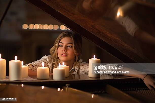 Actor and singer Louane Emera is photographed for Paris Match on November 27 2014 in Paris France