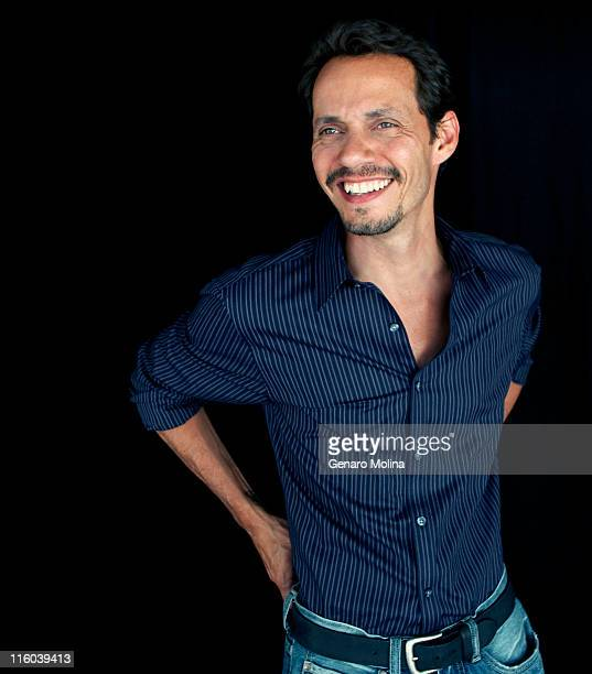 Actor and singer Marc Anthony is photographed for Los Angeles Times on June 2 2011 in Van Nuys California CREDIT MUST READ Genaro Molina/Los Angeles...