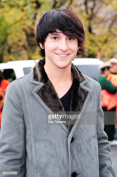 Actor and singer Mitchel Musso attends the 83rd annual Macy's Thanksgiving Day Parade on the streets of Manhattan on November 26 2009 in New York City