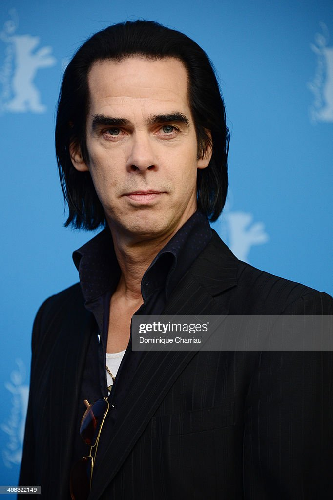 Actor and singer Nick Cave attends the '20000 Days on Earth' photocall during 64th Berlinale International Film Festival at Grand Hyatt Hotel on...