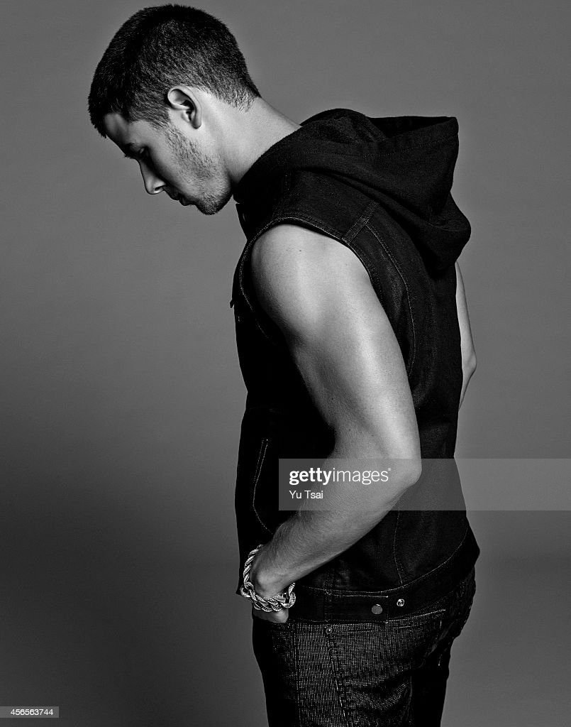 Actor and singer Nick Jonas is photographed for Flaunt Magazine on September 13, 2014 in Los Angeles, California. PUBLISHED