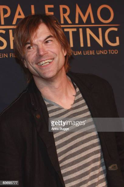 Actor and singer of the German band 'Die Toten Hosen' Campino attends the premiere of his movie 'Palermo Shooting' on November 14 2008 in Berlin...