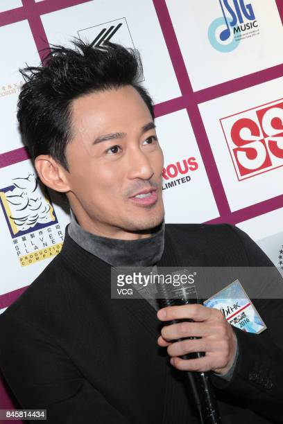 Actor and singer Raymond Lam attends the award ceremony for IFPI's Best Selling Singers on September 11 2017 in Hong Kong China