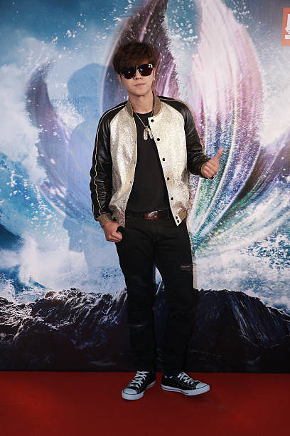 Stephen Chow Promotes Film The Mermaid In Hong Kong