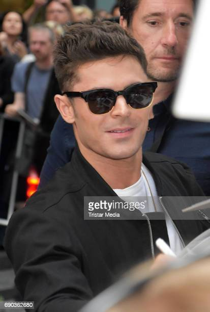 US actor and singer Zac Efron during the Baywatch European Premiere Party on May 31 2017 in Berlin Germany