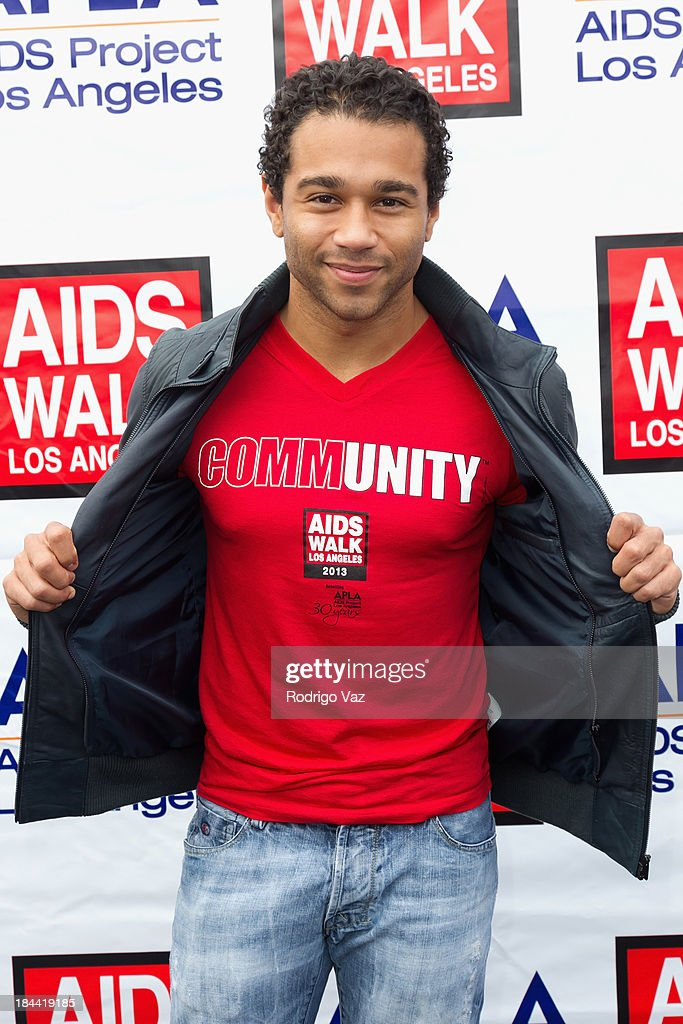 Actor and singer/songwriter Corbin Bleu attends the 29th Annual AIDS Walk LA on October 13, 2013 in West Hollywood, California.