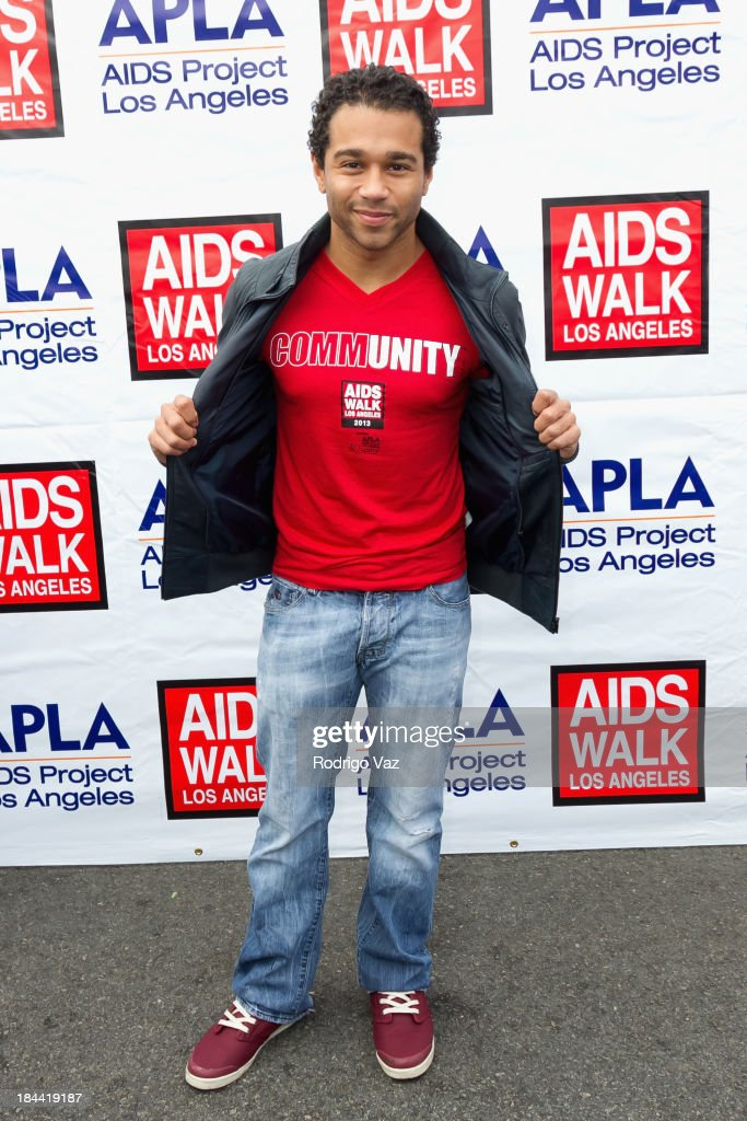 Actor and singer/songwriter <a gi-track='captionPersonalityLinkClicked' href=/galleries/search?phrase=Corbin+Bleu&family=editorial&specificpeople=651888 ng-click='$event.stopPropagation()'>Corbin Bleu</a> attends the 29th Annual AIDS Walk LA on October 13, 2013 in West Hollywood, California.
