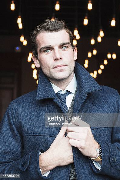 Actor and theatre director Stanley Webber is photographed on September 5 2015 in Deauville France