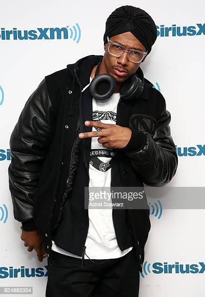 Actor and TV personality Nick Cannon visits the SiriusXM Studios on November 21 2016 in New York City
