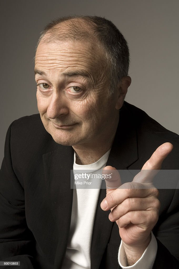 Actor and TV presenter Tony Robinson poses for a studio portrait session in 2007 in London.