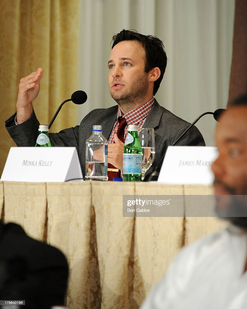 Actor and writer Danny Strong attends the press conference for The Weinstein Company's LEE DANIELS' THE BUTLER at Waldorf Astoria Hotel on August 5, 2013 in New York City.