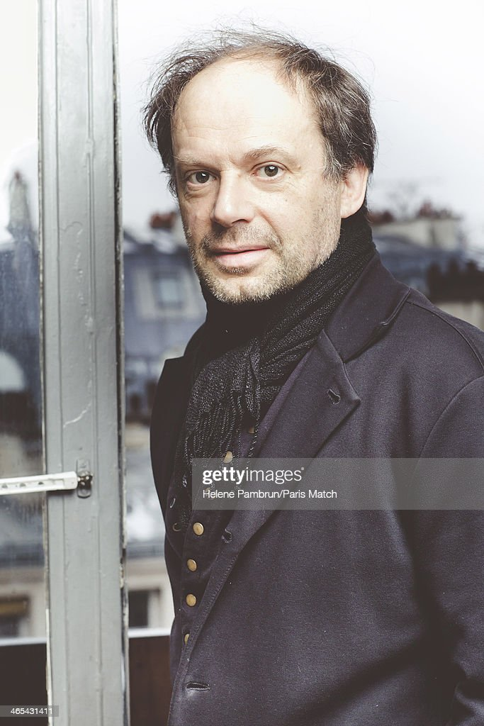 Actor and writer Denis Podalydes is photographed for Paris Match on January 15, 2014 in Paris, France.