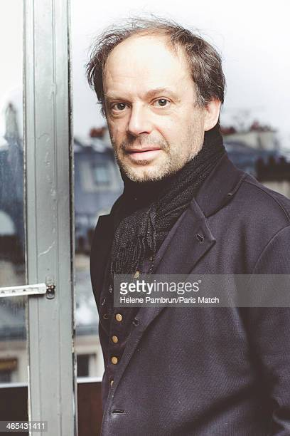 Actor and writer Denis Podalydes is photographed for Paris Match on January 15 2014 in Paris France