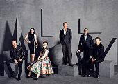 Actor and writer Justin Theroux actress Julia LouisDreyfus actress writer and director Lena Dunham HBO CEO Richard Plepler HBO's Programming Chief...