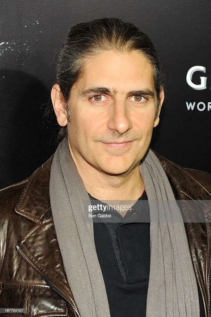 Actor and writer <a gi-track='captionPersonalityLinkClicked' href=/galleries/search?phrase=Michael+Imperioli&family=editorial&specificpeople=209424 ng-click='$event.stopPropagation()'>Michael Imperioli</a> attends the screening of 'Oldboy' hosted by FilmDistrict and Complex Media with the Cinema Society and Grey Goose at AMC Lincoln Square Theater on November 11, 2013 in New York City.