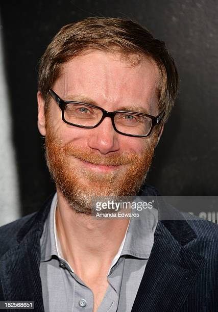 Actor and writer Stephen Merchant arrives at the Los Angeles premiere of 'Captain Phillips' at the Academy of Motion Picture Arts and Sciences on...