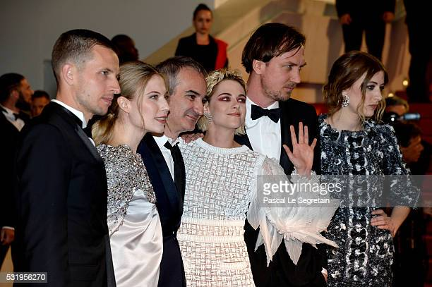 Actor Anders Danielsen Lie actress Nora von Waldstaetten director Olivier Assayas actress Kristen Stewart actor Lars Eidinger and actress Sigrid...