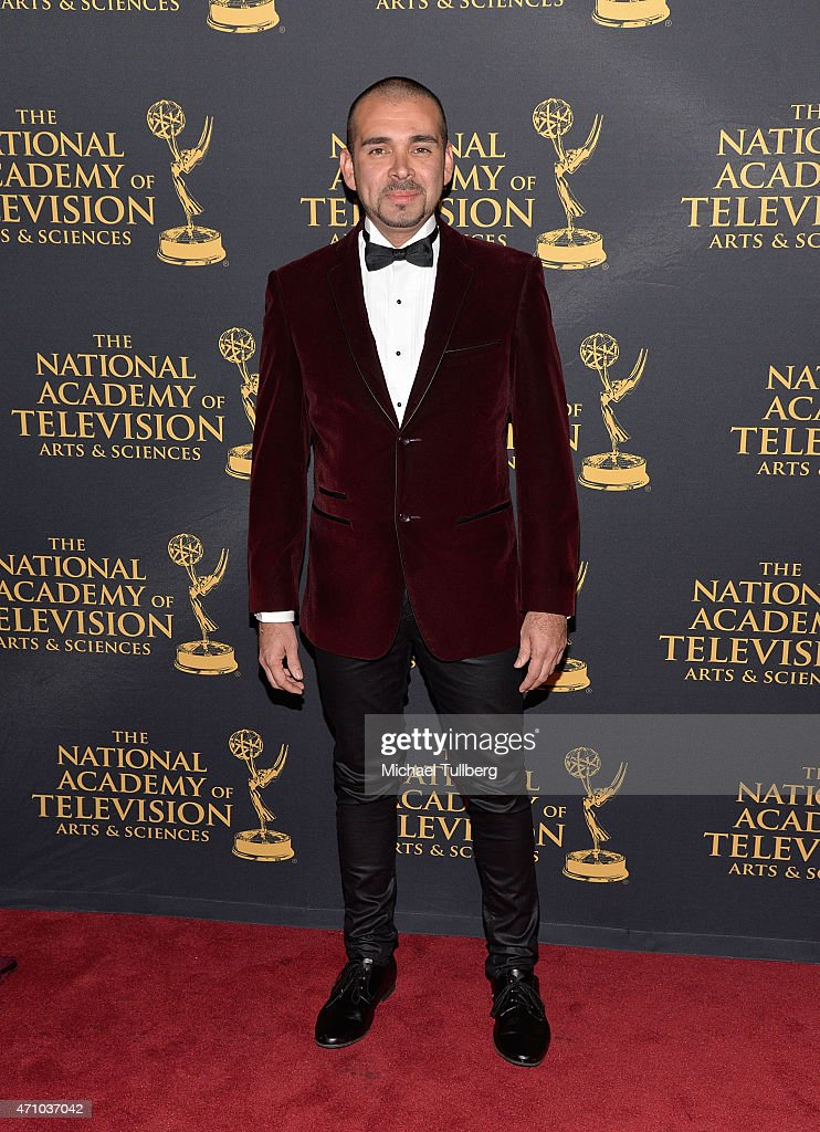 Actor Andre Bauth attends the 42nd Annual Daytime Creative Arts Emmy Awards at Universal Hilton Hotel on April 24, 2015 in Universal City, California.