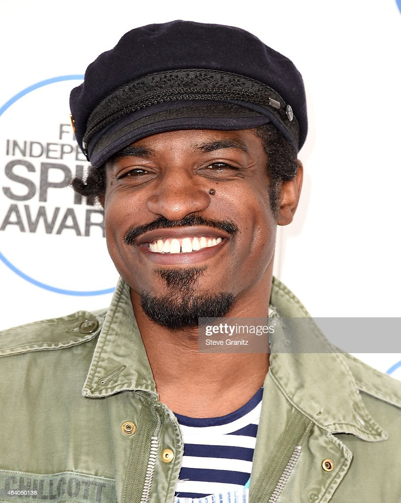 Actor Andre Benjamin attends the 2015 Film Independent Spirit Awards at Santa Monica Beach on February 21, 2015 in Santa Monica, California.