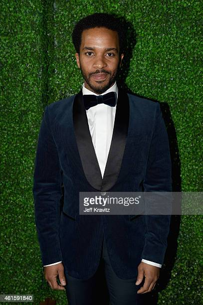 Actor Andre Holland attends the 20th annual Critics' Choice Movie Awards at the Hollywood Palladium on January 15 2015 in Los Angeles California