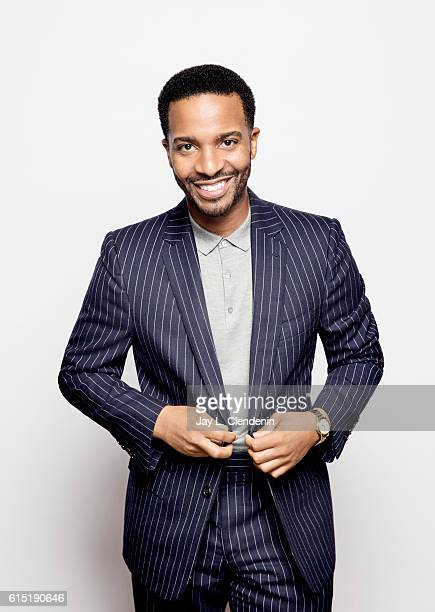 Actor Andre Holland from the film 'Moonlight' poses for a portraits at the Toronto International Film Festival for Los Angeles Times on September 14...