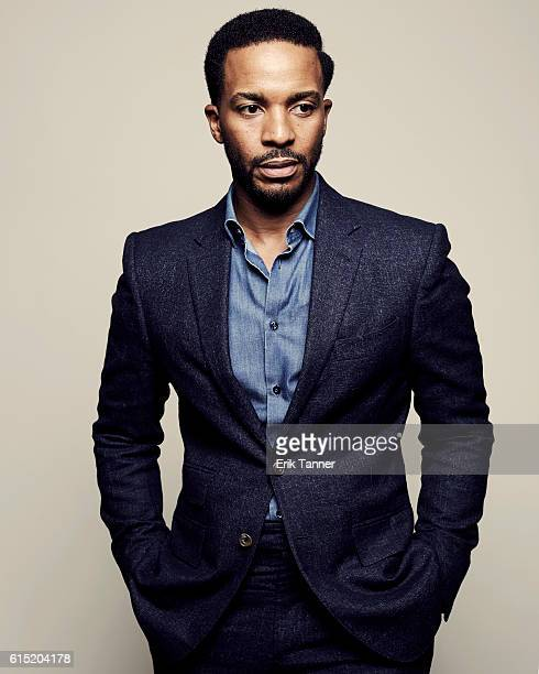 Actor Andre Holland poses for a portrait during the 54th New York Film Festival at Lincoln Center on October 2 2016 in New York City