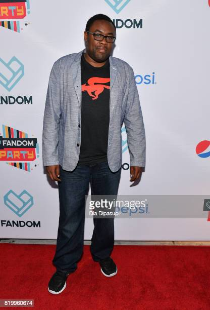 Actor Andre Meadows at FANDOM's Annual ComicCon KickOff Party at Float at Hard Rock Hotel San Diego on July 20 2017 in San Diego California