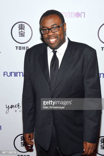 Actor Andre Meadows attends Funimation Films presents 'Your Name' Theatrical Premiere in Los Angeles CA at Yamashiro Hollywood on March 23 2017 in...