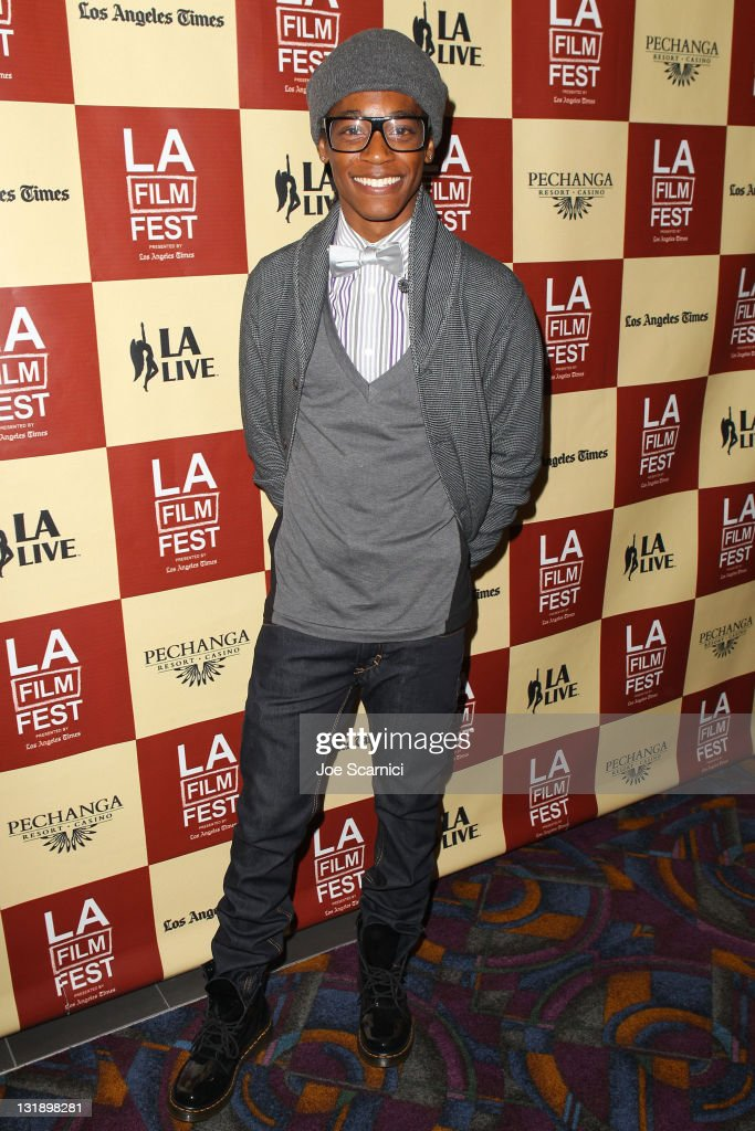 Actor Andre Myers attends the 'Leave It On The Floor' Q & A during the 2011 Los Angeles Film Festival held at the Regal Cinemas L.A. LIVE on June 18, 2011 in Los Angeles, California.