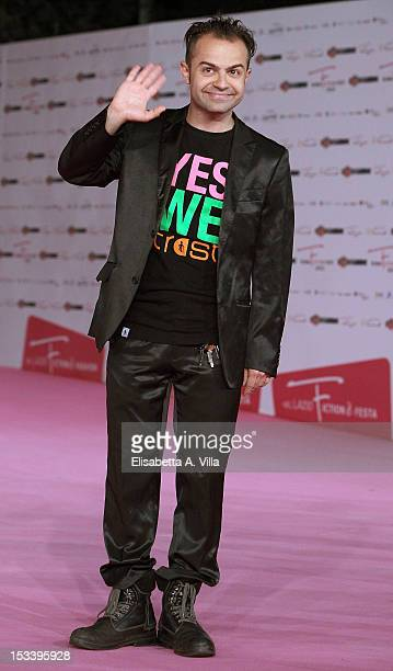 Actor Andrea De Rosa attends 'Youtuber$' premiere during the 2012 RomaFictionFest at Auditorium Parco della Musica on October 4 2012 in Rome Italy