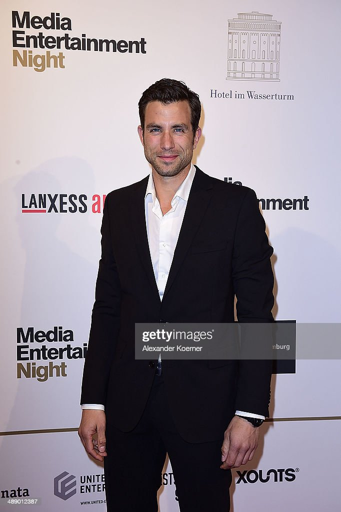 Actor Andreas Jancke attends the Media Entertainment Night at Hotel im Wasserturm on May 9, 2014 in Cologne, Germany.