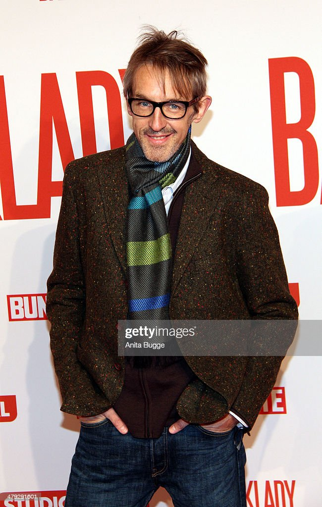 Actor Andreas Schmidt attends the 'Banklady' premiere at Kino International on March 17, 2014 in Berlin, Germany.