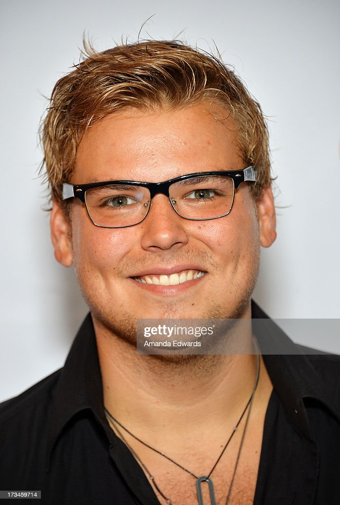 Actor Andrew Caldwell arrives at the 31st Annual Outfest Los Angeles LGBT Film Festival screening of 'Geography Club' at Directors Guild Of America on July 14, 2013 in Los Angeles, California.