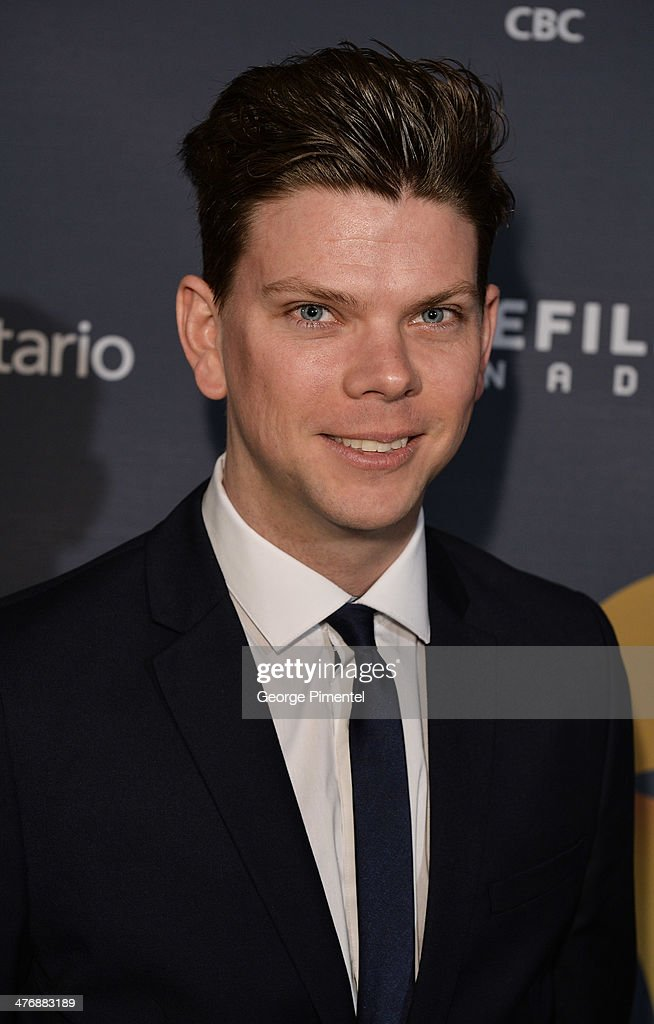 Actor Andrew Chapman attends the 2014 Canadian Screen awards Industry 2 at the Sheraton Centre Toronto Hotel on March 5, 2014 in Toronto, Canada.
