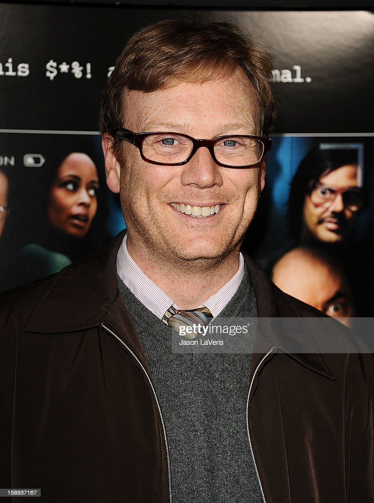 Actor Andrew Daly attends the premiere of 'A Haunted House' at ArcLight Hollywood on January 3, 2013 in Hollywood, California.