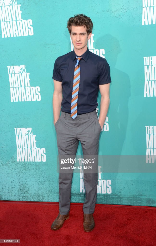 Actor Andrew Garfield arrives at the 2012 MTV Movie Awards held at Gibson Amphitheatre on June 3, 2012 in Universal City, California.