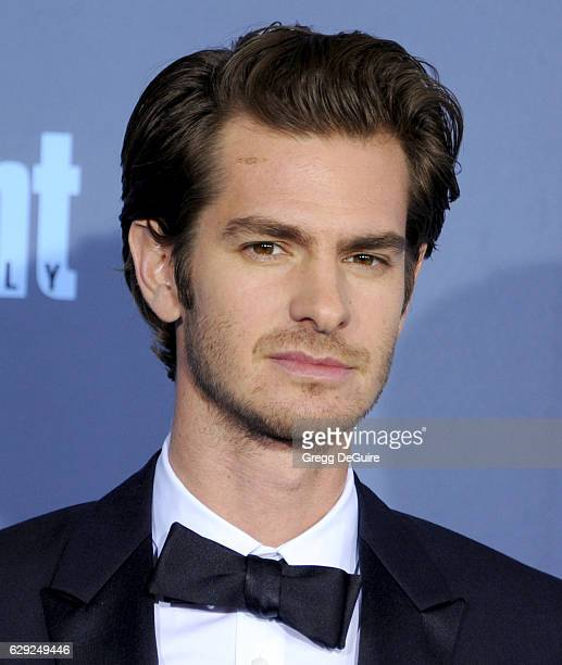 Actor Andrew Garfield arrives at The 22nd Annual Critics' Choice Awards at Barker Hangar on December 11 2016 in Santa Monica California