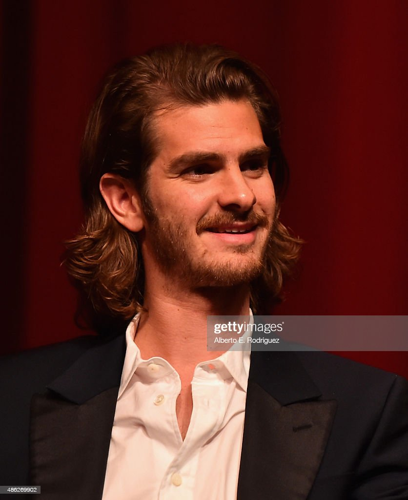 Actor <a gi-track='captionPersonalityLinkClicked' href=/galleries/search?phrase=Andrew+Garfield&family=editorial&specificpeople=4047840 ng-click='$event.stopPropagation()'>Andrew Garfield</a> attends a special screening of '99 Homes' on September 2, 2015 in Los Angeles, California.