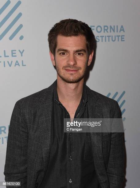 Actor Andrew Garfield attends a special screening of 'Breathe' during the 40th Mill Valley Film Festival at Christopher B Smith Rafael Film Center on...
