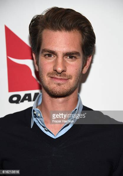 Actor Andrew Garfield attends Australians In Film Presents 'Hacksaw Ridge' Screening and QA With Mel Gibson at Ahrya Fine Arts Movie Theater on...