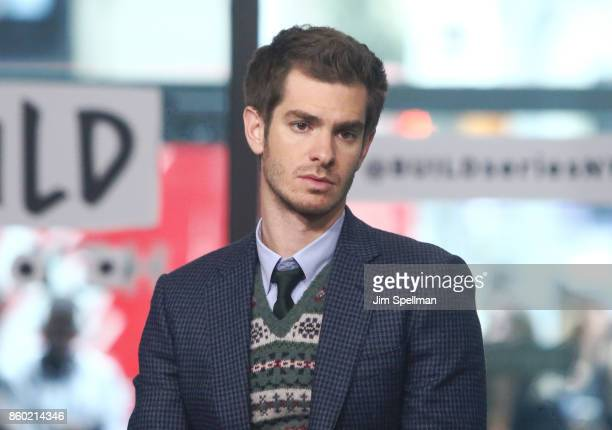 Actor Andrew Garfield attends Build to discuss 'Breathe'at Build Studio on October 11 2017 in New York City