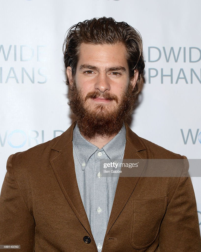 Actor <a gi-track='captionPersonalityLinkClicked' href=/galleries/search?phrase=Andrew+Garfield&family=editorial&specificpeople=4047840 ng-click='$event.stopPropagation()'>Andrew Garfield</a> attends the 10th Annual Worldwide Orphans Gala at Cipriani Wall Street on November 17, 2014 in New York City.