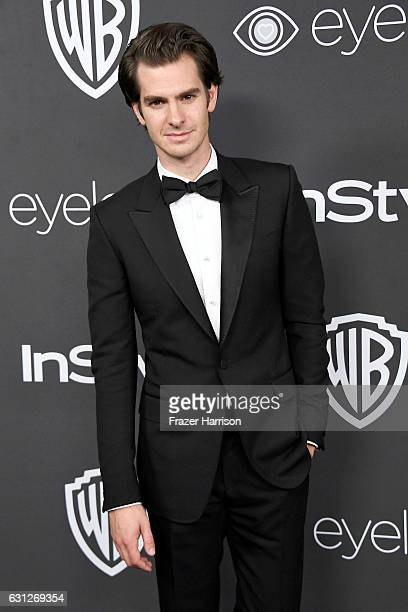 Actor Andrew Garfield attends the 18th Annual PostGolden Globes Party hosted by Warner Bros Pictures and InStyle at The Beverly Hilton Hotel on...