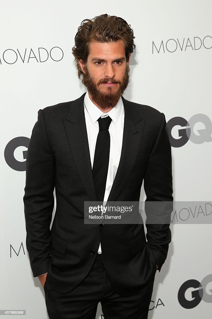 Actor Andrew Garfield attends the 2014 GQ Gentlemen's Ball at IAC HQ on October 22, 2014 in New York City.