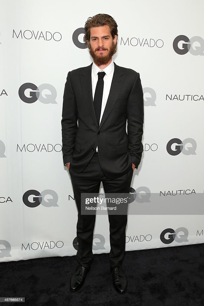 Actor <a gi-track='captionPersonalityLinkClicked' href=/galleries/search?phrase=Andrew+Garfield&family=editorial&specificpeople=4047840 ng-click='$event.stopPropagation()'>Andrew Garfield</a> attends the 2014 GQ Gentlemen's Ball at IAC HQ on October 22, 2014 in New York City.