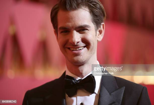 Actor Andrew Garfield attends the 89th Annual Academy Awards at Hollywood Highland Center on February 26 2017 in Hollywood California
